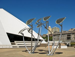 Art meets solar cells in Adelaide