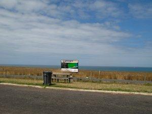 Typical Australian roadside viewpoint