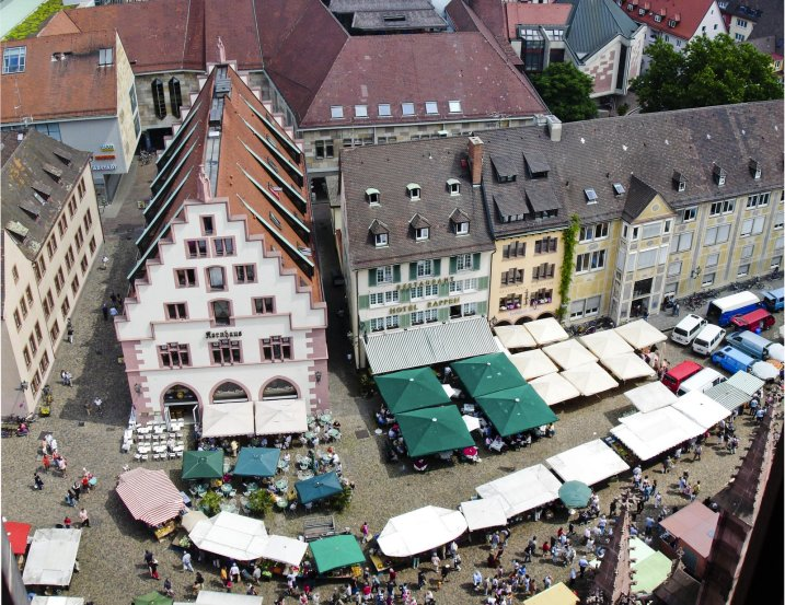 The market from above