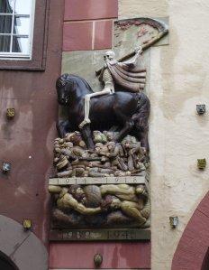 Grim reminder in Ettlingen