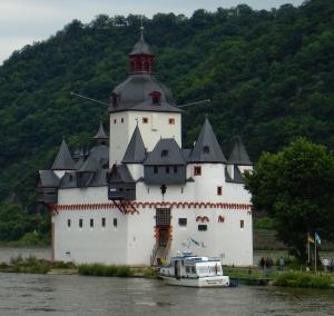 Pfalzgrafenstein in Kaub on the Rhine