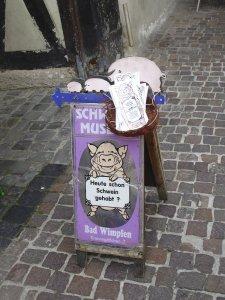 The Schweine (Swine) Museum in Bad Wimpfen