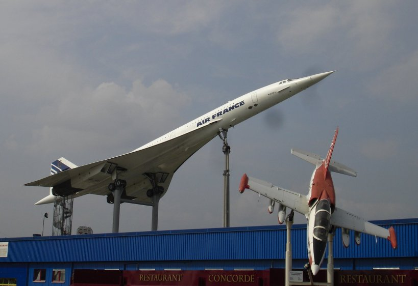 The Concord (a real plane) at the Auto & Technik Museum, Sinsheim