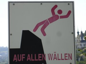 I've fallen off the wallen.  Perhaps our German needs work.