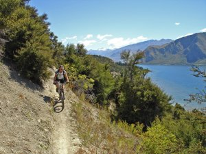 Becky on The Gulch in Wanaka