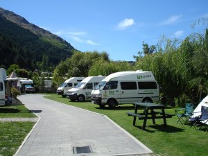 Campervan Row, Queenstown