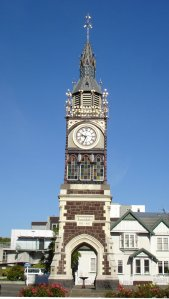 Diamond Jubilee Clock Tower in Christchurch