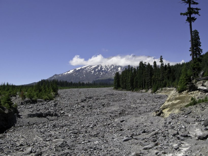 The Lahar path