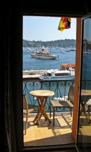 A room with a view--Villefranche-sur-mer (from our room)