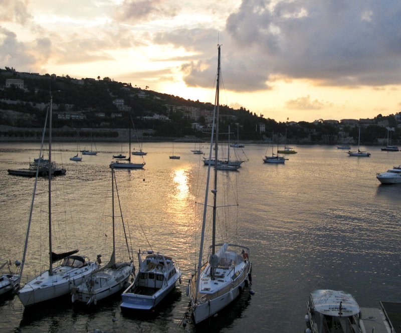Villefranche-sur-mer in the morning light