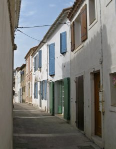 Street scene from Saintes-Maries-de-la-Mer