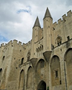 Palais des Papes (The Palace of the Popes) in Avignon