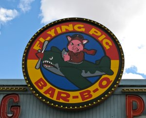 A tasty pig with a nasty attitude in Winnemucca