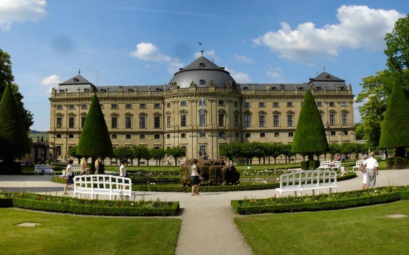 Garden view of Residenz