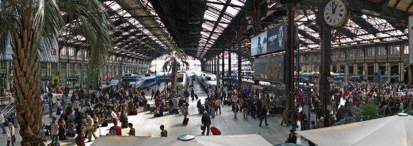 Paris Gare Lyon panorama