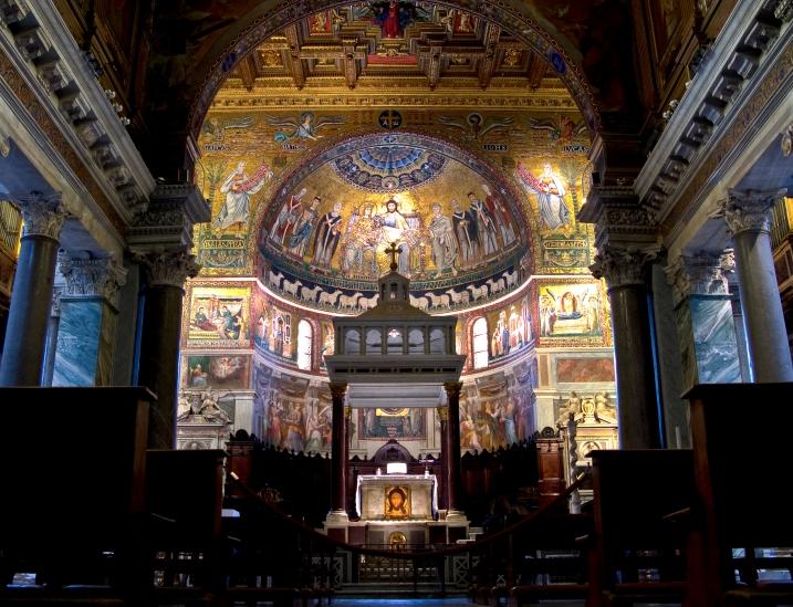 Santa Maria in Trastevere (HDR)