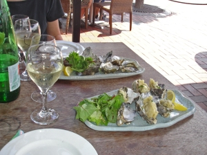 Shellfish and Sauvignon Blanc--the first of many?