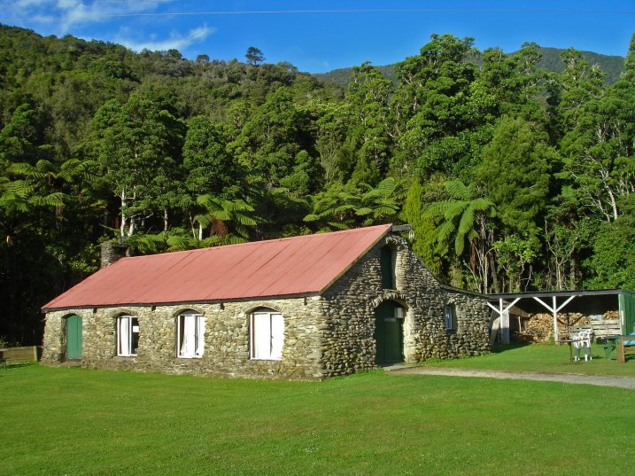 Building at Furneaux Lodge, another place to stay in Queen Charlotte Sound