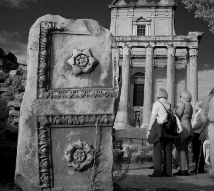 The Roman Forum (IR filter)