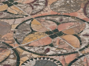 Marble floors from Ostia