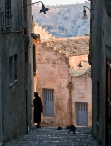 Matera in the morning light