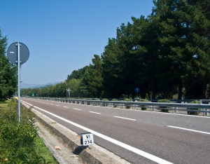 The Italian autostrada