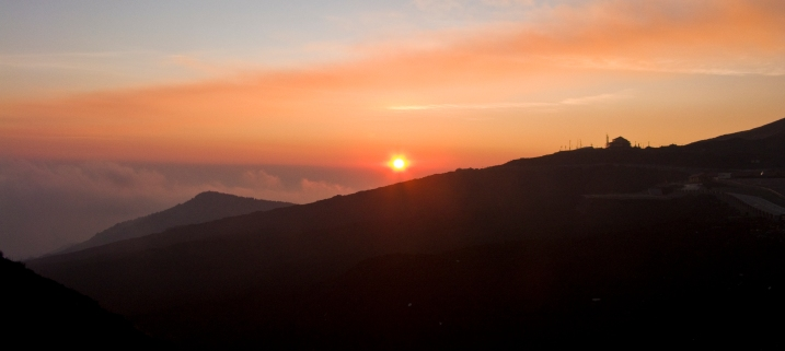 Sunset on Mt. Etna
