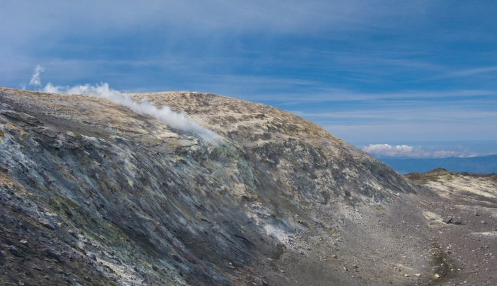 Fumarole on Mt. Etna