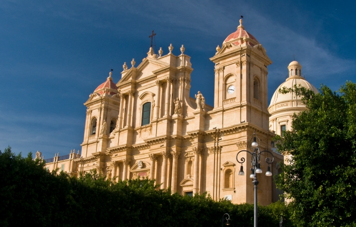 Baroque cathedral dedicated to San Nicolo in Noto