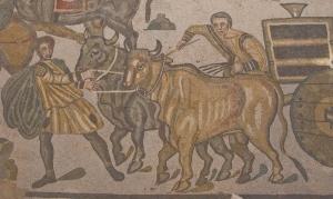 Roman mosaics in Villa del Casale