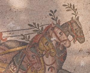 Mosaics in Villa del Casale