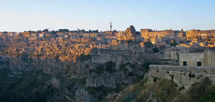 Matera in the morning before our departure