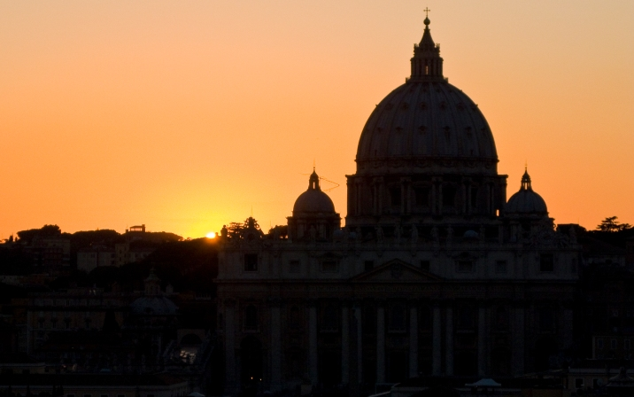 San Pietro at Sunset