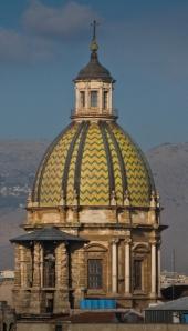 A church dome in Palermo