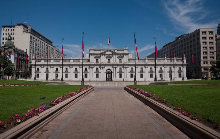 Palacio de la Moneda in Santiago