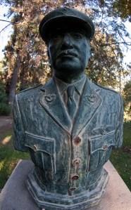 Statute of Arturo Merino Benitez in Santiago