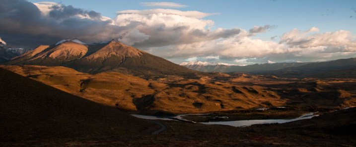 Torres del Paine in the morning light