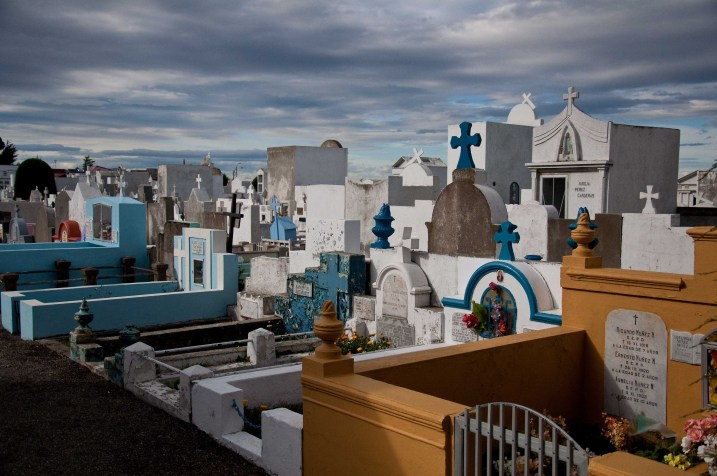 The cemetery in Punta Arenas
