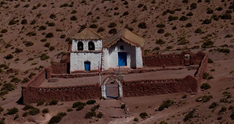 The church in Machuca