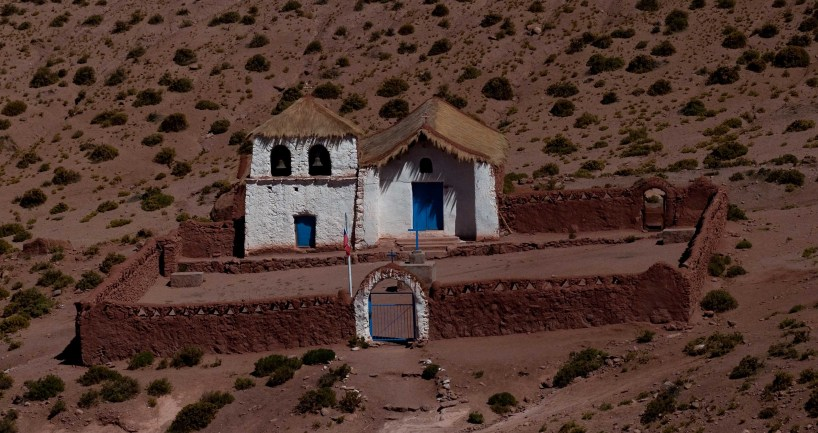 The church in Machuca