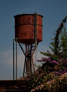 Water tank at Viu Mament