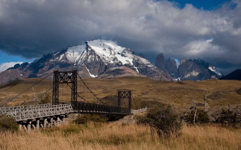 The Black Bridge in Torres del Paine