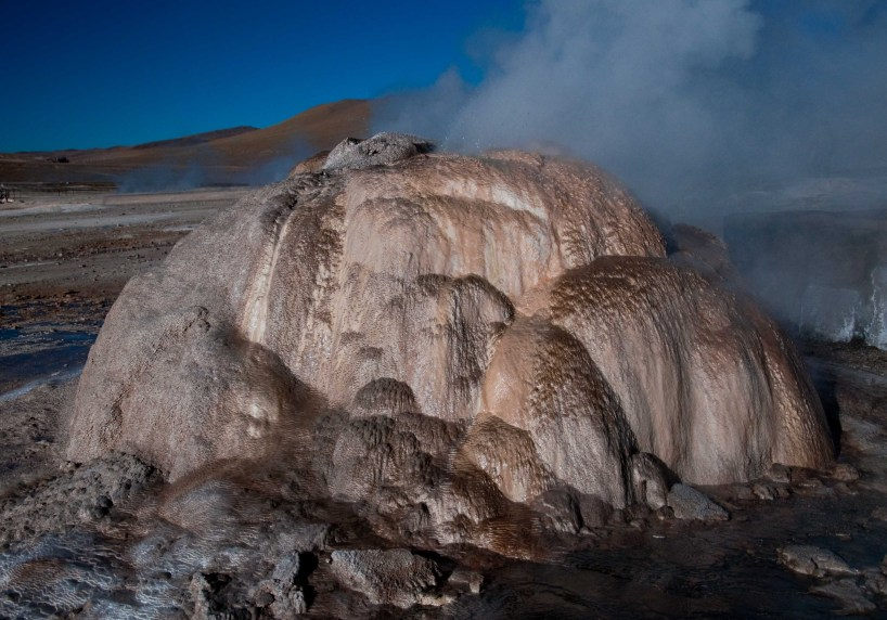 A geyeser in El Tatio