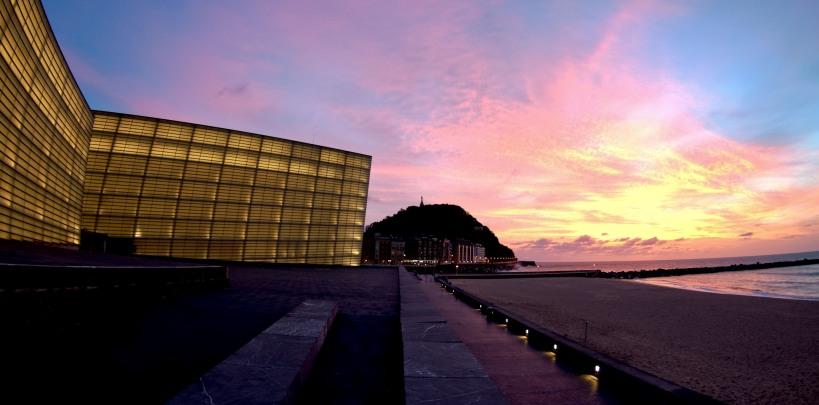 Sunset in San Sebastian (HDR)