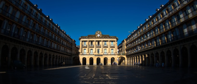 Place de la Constitution in San Sebastian