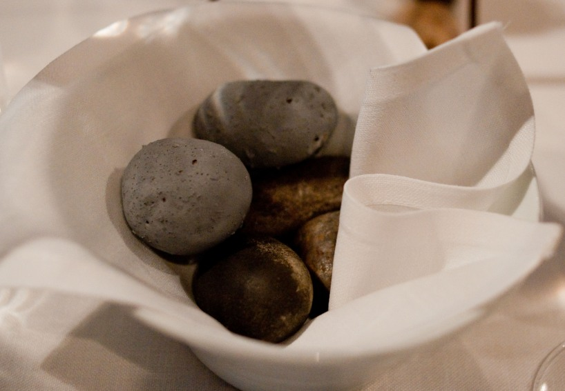 Potatoes and stones