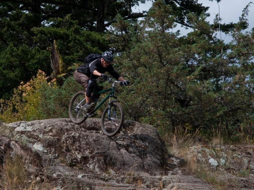 Josh rides Main Vein
