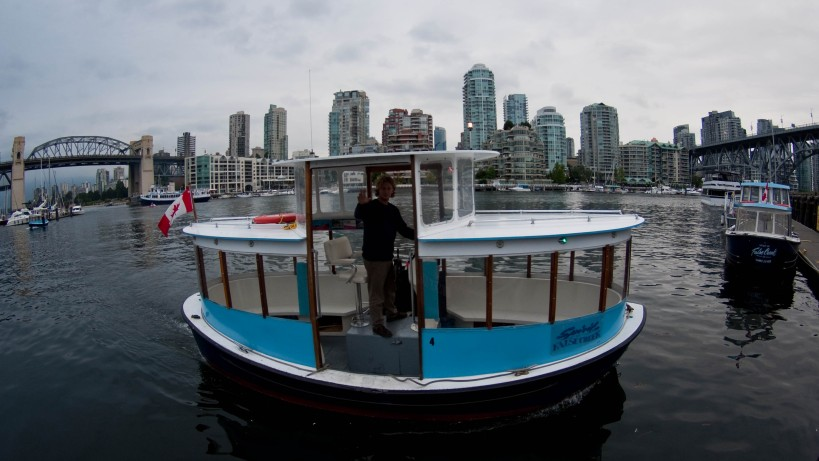 Spirit of False Creek on the water in Vancouver