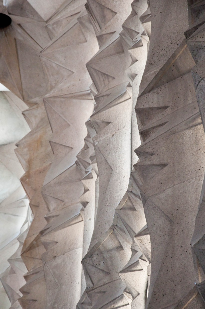 Details inside Sagrada Familia