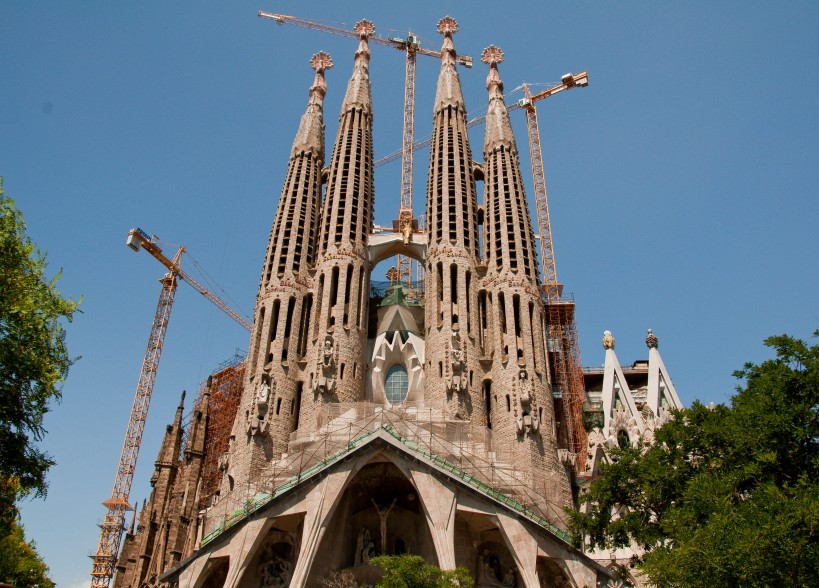 Construction continues on Sagrada Familia